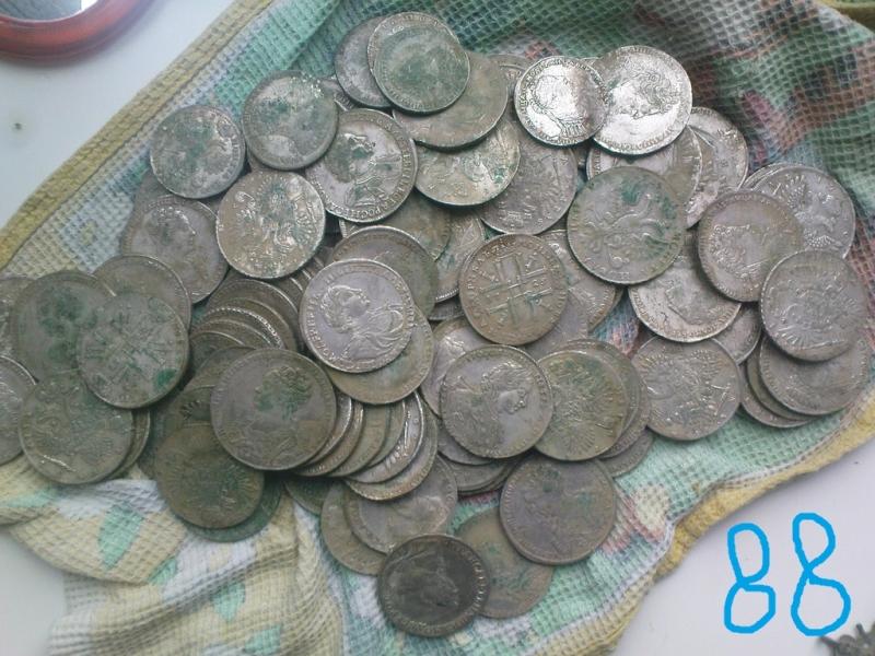 Покупаем монетные клады !