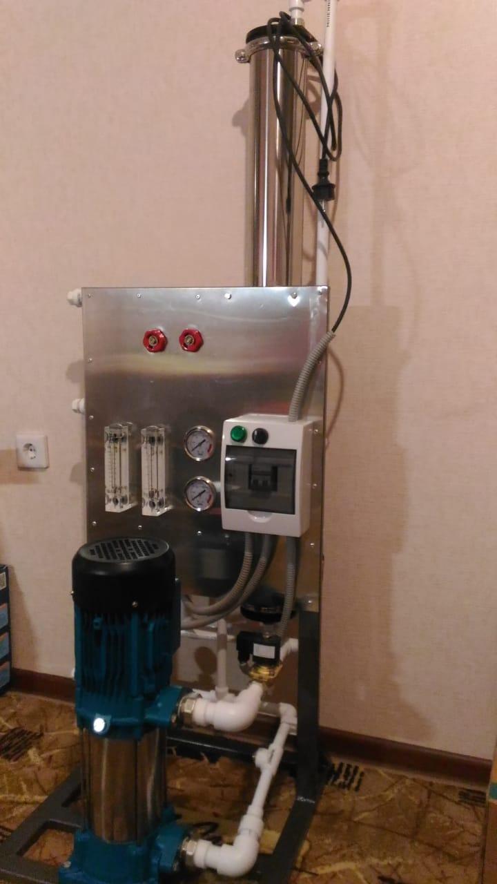 Обратный осмос установка 250 литров в час