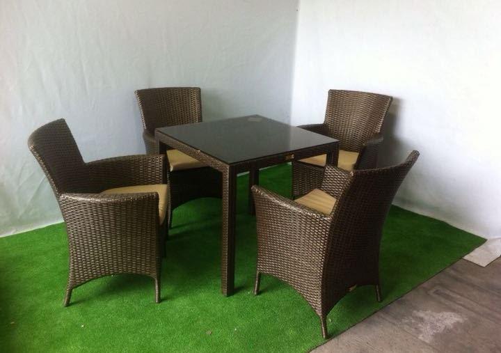 Анкор 4 кресла 1стол комплект из ротанга_Доставка по РФ