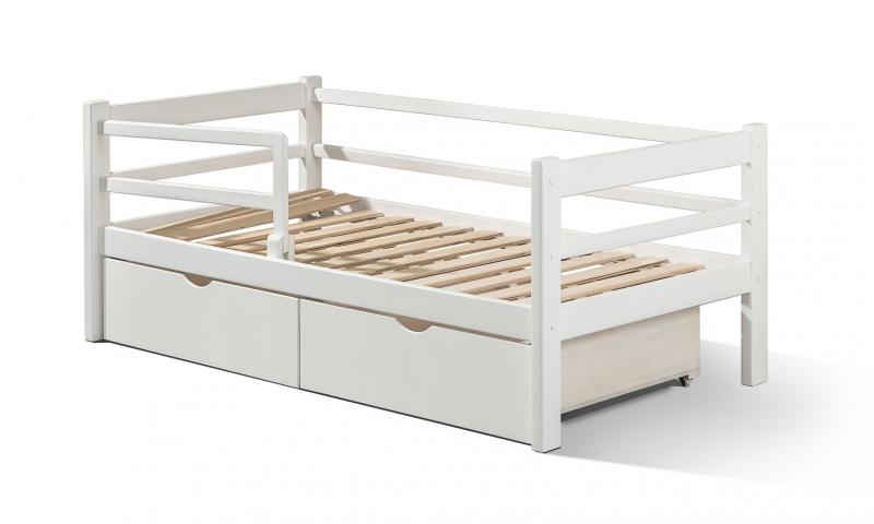 Кровати для детей из массвиа березы от 2-16 лет