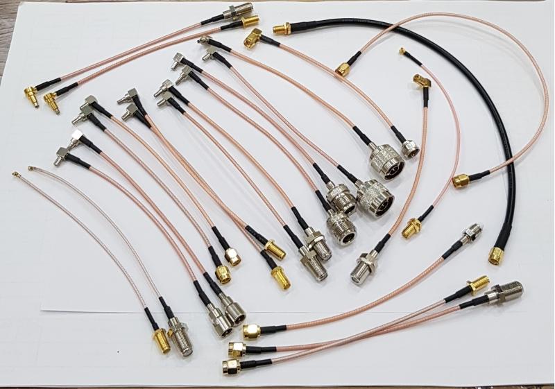 Пигтейлы CRC9/TS9/MS156/Uf.l/F/N/SMA/FME
