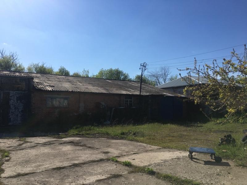 Продается земельный участок и здание склада
