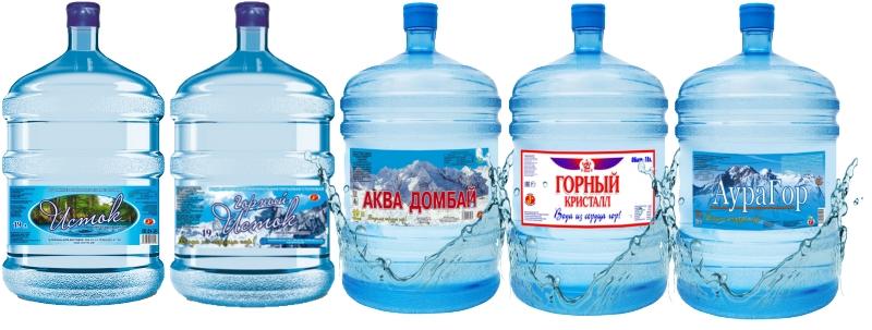 Доставка воды 19 литров в Ростове-на-Дону опт и розница