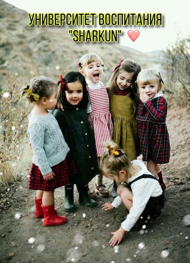 """Дети, любовь и забота. Университет воспитания """"SHARKUN"""""""