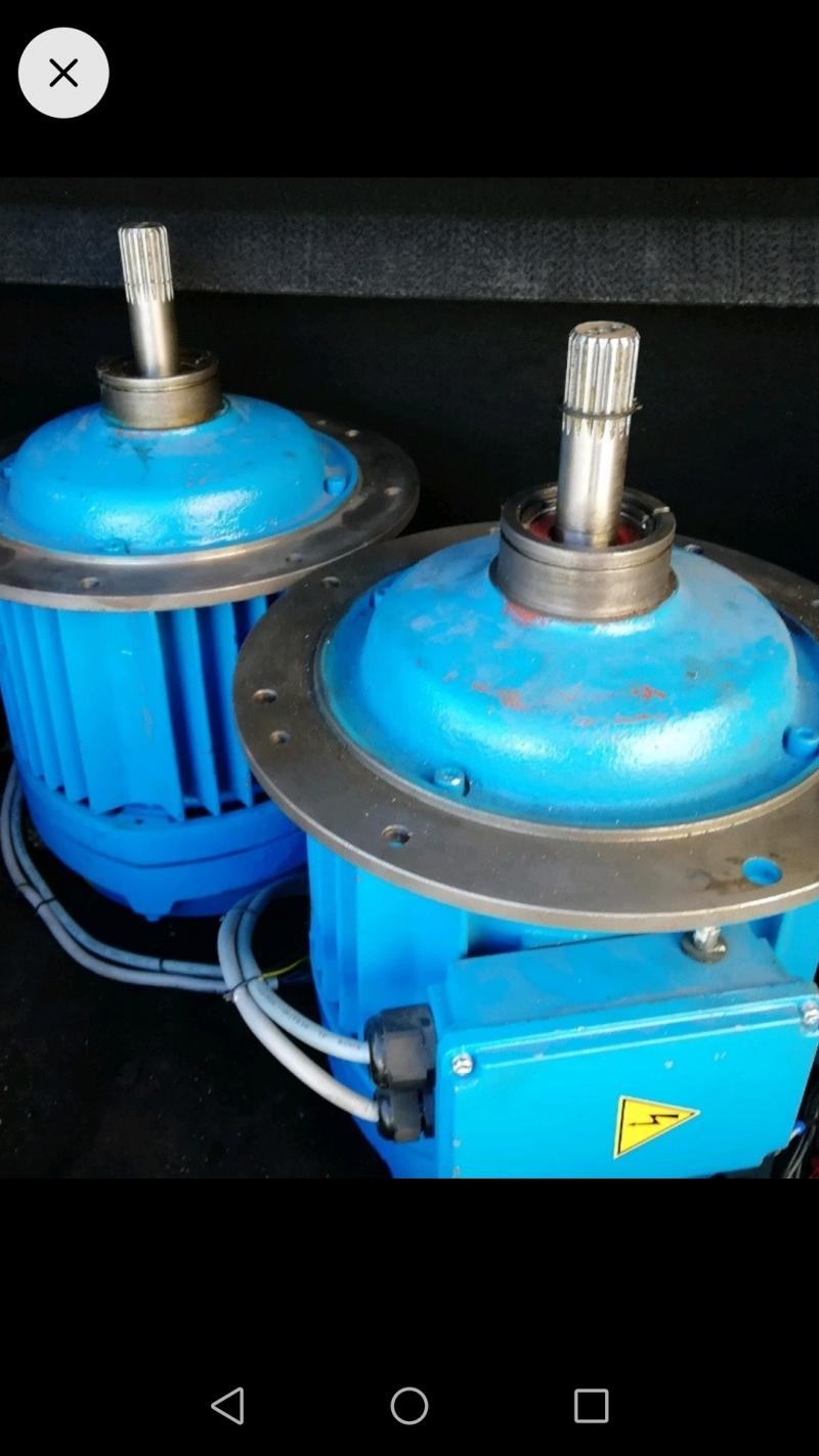 Двигатель для тельфера