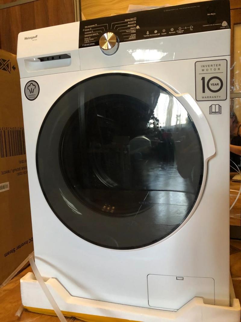 Стиральная машина с сушкой Weissgauff WMD 4748 DC Inverter Steam