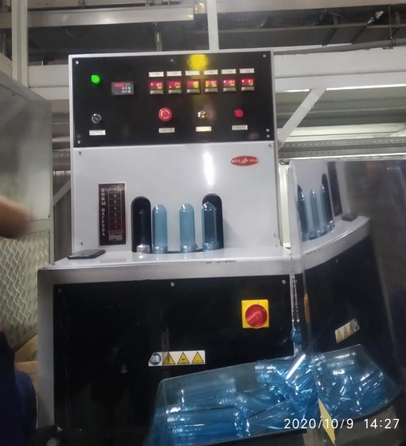 Линия для выпуска воды в бутылку ПЭТ 5литров