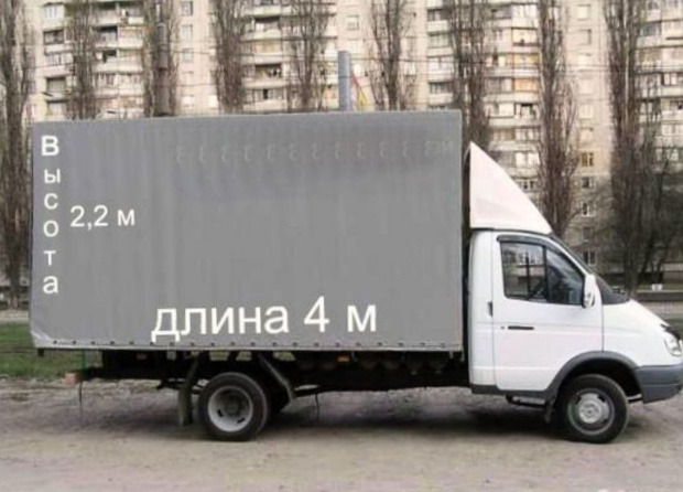 Перевозки Газелью в Подольске
