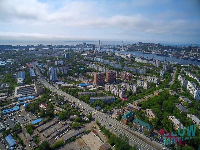 Аэросъемка от команды SlowMotion во Владивостоке и Приморском крае