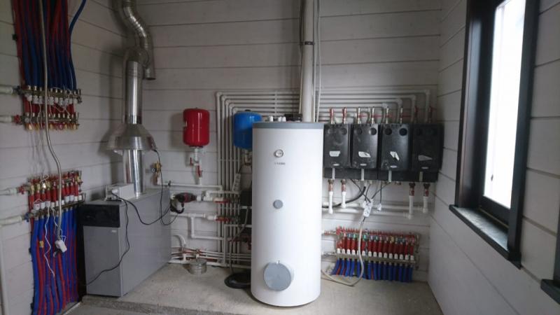 Здесь - отопление, водоснабжение, канализация под ключ