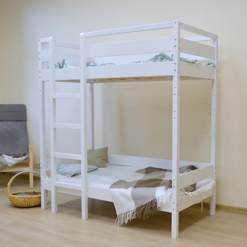 Двухярусная кровать из массива