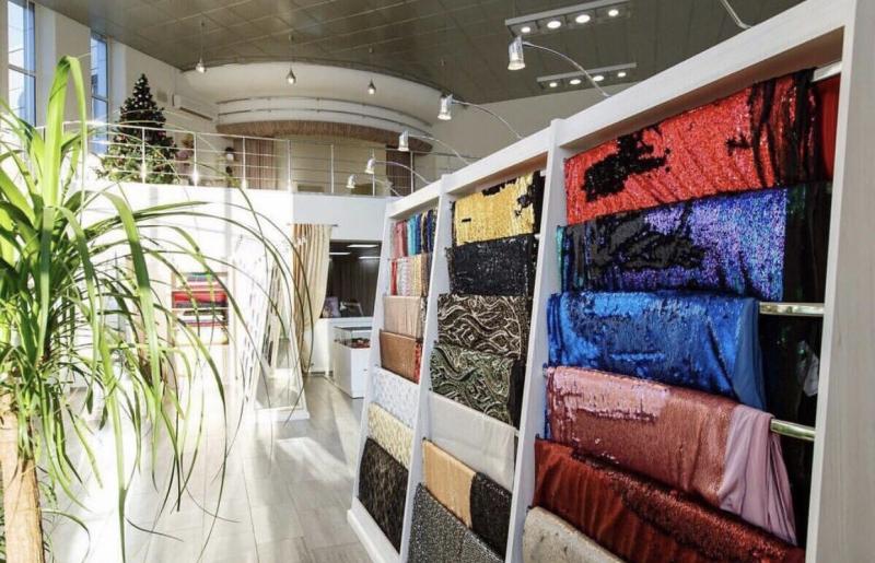 Распродаем ткани из Италии в связи с закрытие