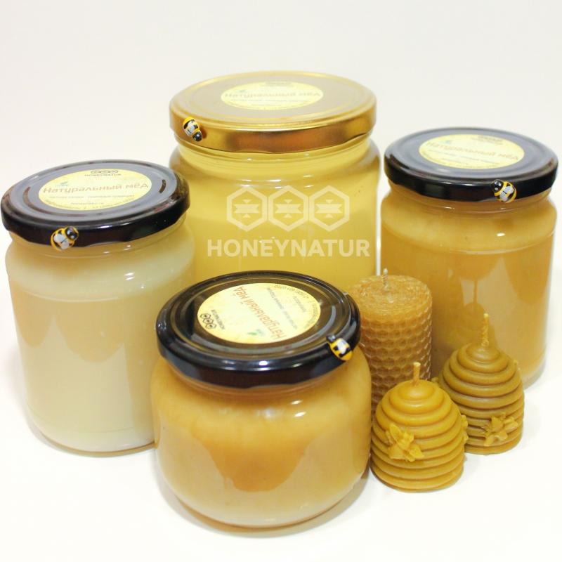 Натуральный мёд с частной пасеки. Разные сорта