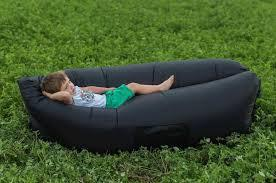Надувной диван - гамак Ламзак (черный)