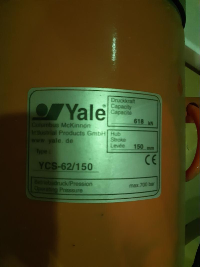 Домкраты Yale