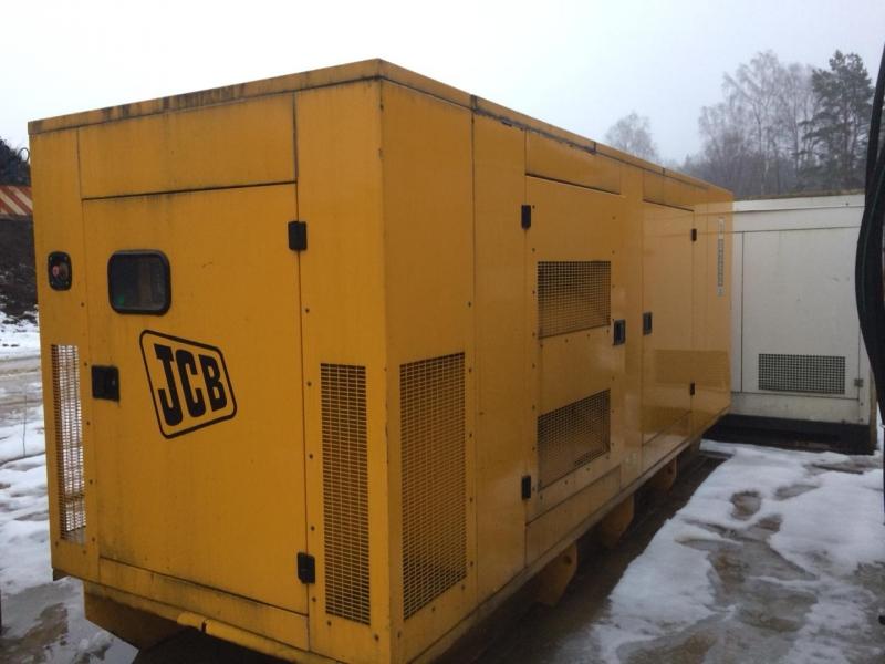 Продам дизель-генераторную станцию  JCB 300кВА (250 кВт)