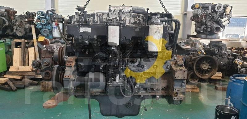 Двигатель оригинал SA6D125E-2 Komatsu контрактный без ремонта