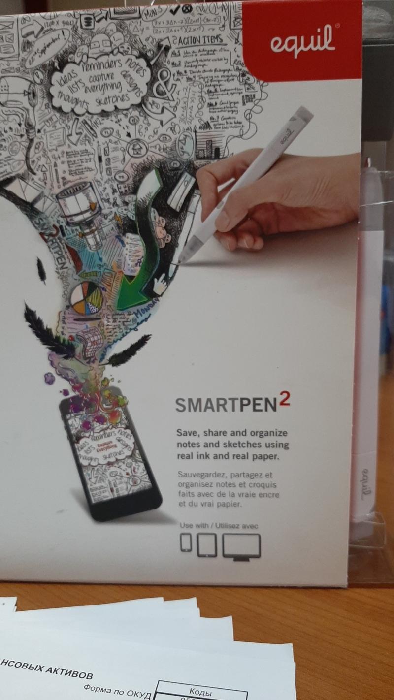 Smartpen2 новый, почти даром